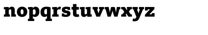 FF Kievit Slab Black Font LOWERCASE