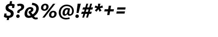FF Kievit Slab Bold Italic Font OTHER CHARS