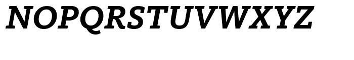 FF Kievit Slab Bold Italic Font UPPERCASE
