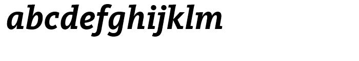 FF Kievit Slab Bold Italic Font LOWERCASE