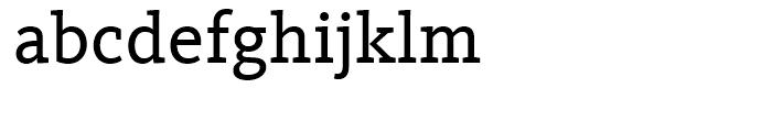 FF Kievit Slab Book Font LOWERCASE