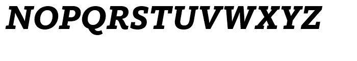 FF Kievit Slab Extra Bold Italic Font UPPERCASE