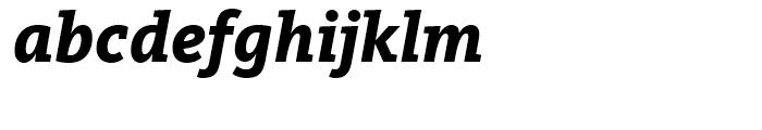 FF Kievit Slab Extra Bold Italic Font LOWERCASE