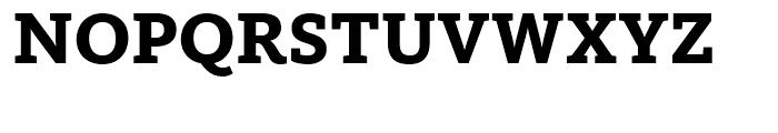 FF Kievit Slab Extra Bold Font UPPERCASE