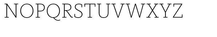 FF Kievit Slab Extra Light Font UPPERCASE