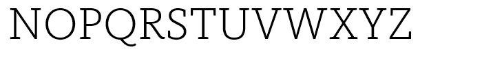 FF Kievit Slab Light Font UPPERCASE