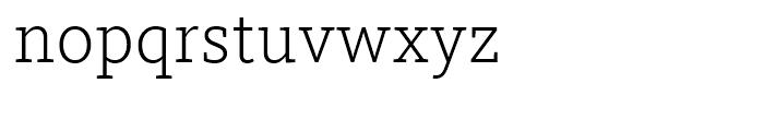 FF Kievit Slab Light Font LOWERCASE
