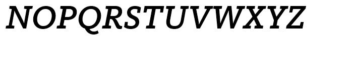 FF Kievit Slab Medium Italic Font UPPERCASE