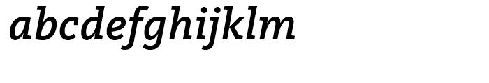 FF Kievit Slab Medium Italic Font LOWERCASE