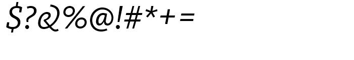 FF Kievit Slab Regular Italic Font OTHER CHARS