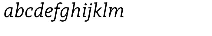 FF Kievit Slab Regular Italic Font LOWERCASE