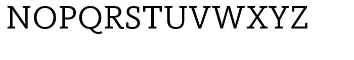 FF Kievit Slab Regular Font UPPERCASE