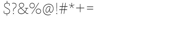 FF Kievit Slab Thin Font OTHER CHARS