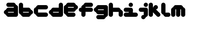 FF Koko Three Font LOWERCASE