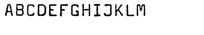 FF Magda Book Font UPPERCASE