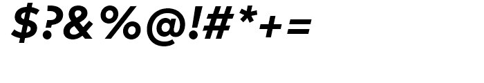 FF Mark Bold Italic Font OTHER CHARS