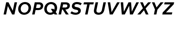 FF Mark Bold Italic Font UPPERCASE