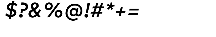 FF Mark Medium Italic Font OTHER CHARS