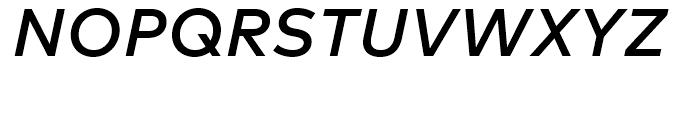 FF Mark Medium Italic Font UPPERCASE