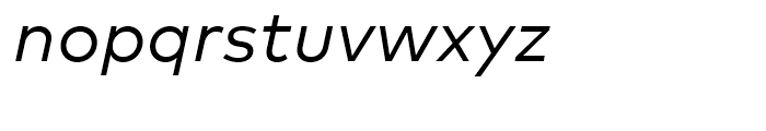 FF Mark Regular Italic Font LOWERCASE