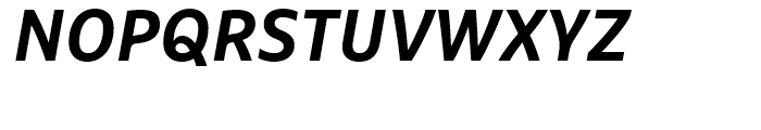 FF Marselis Bold Italic Font UPPERCASE