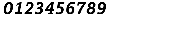 FF Marselis Slab Bold Italic Font OTHER CHARS