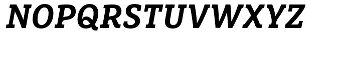 FF Marselis Slab Bold Italic Font UPPERCASE