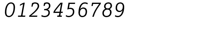 FF Marselis Slab Light Italic Font OTHER CHARS
