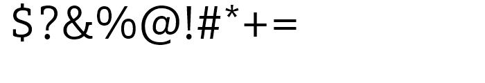 FF Marselis Slab Light Font OTHER CHARS