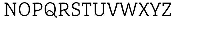 FF Marselis Slab Light Font UPPERCASE