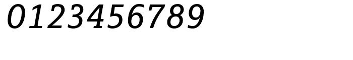 FF Marselis Slab Regular Italic Font OTHER CHARS