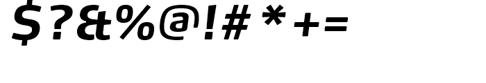 FF Max Bold Italic Font OTHER CHARS