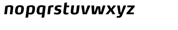 FF Max Bold Italic Font LOWERCASE