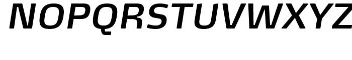 FF Max Demi Serif Demi Bold Italic Font UPPERCASE