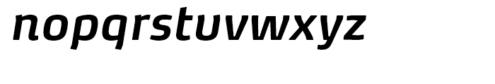 FF Max Demi Serif Demi Bold Italic Font LOWERCASE