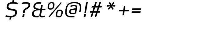 FF Max Demi Serif Light Italic Font OTHER CHARS