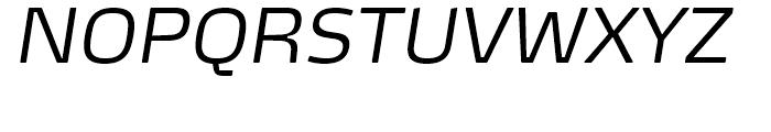 FF Max Demi Serif Light Italic Font UPPERCASE