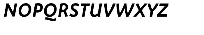 FF Megano Demi Bold Italic Font UPPERCASE