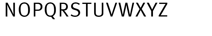 FF Meta Correspondence Regular Font UPPERCASE