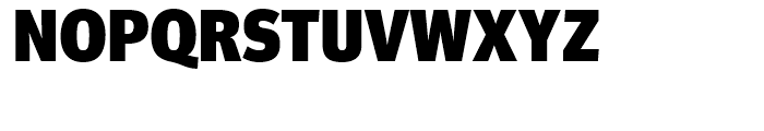 FF Meta Headline Black Font UPPERCASE