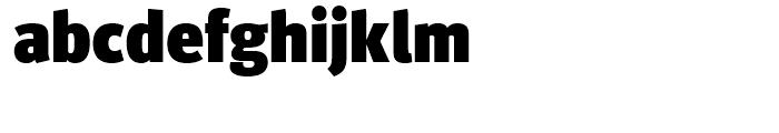 FF Meta Headline Black Font LOWERCASE