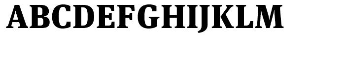 FF Meta Serif Black Font UPPERCASE