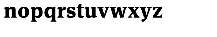 FF Meta Serif Black Font LOWERCASE