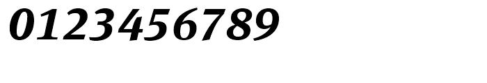 FF Meta Serif Bold Italic Font OTHER CHARS