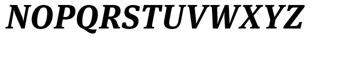 FF Meta Serif Bold Italic Font UPPERCASE