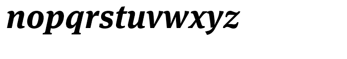 FF Meta Serif Bold Italic Font LOWERCASE