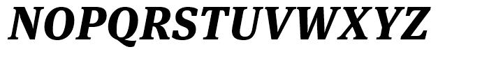 FF Meta Serif Extra Bold Italic Font UPPERCASE