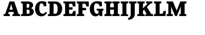 FF More Black Font UPPERCASE