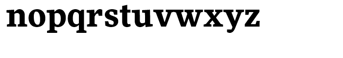 FF More Bold Font LOWERCASE