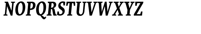 FF More Condensed Bold Italic Font UPPERCASE